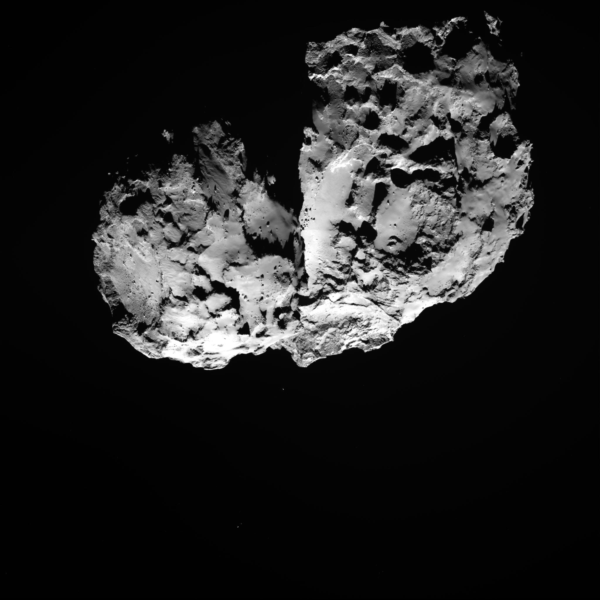 носитель фото кометы чурюмова герасименко коллекция