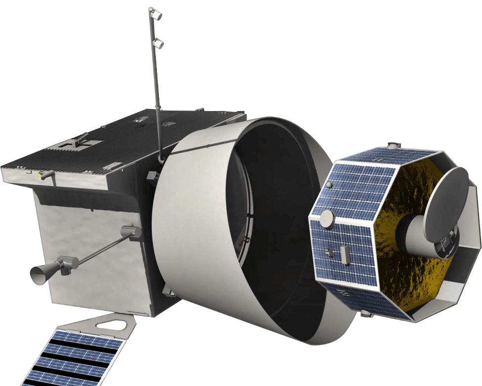 BepiColombo spacecraft model 1